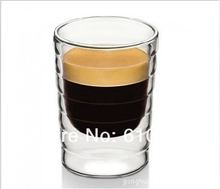 set 2 hand-blown,double-walled glass Lungo cups(85ml) Nespresso Glass Coffee Cup,Mug,teacup,Thermo - Keep Moving store