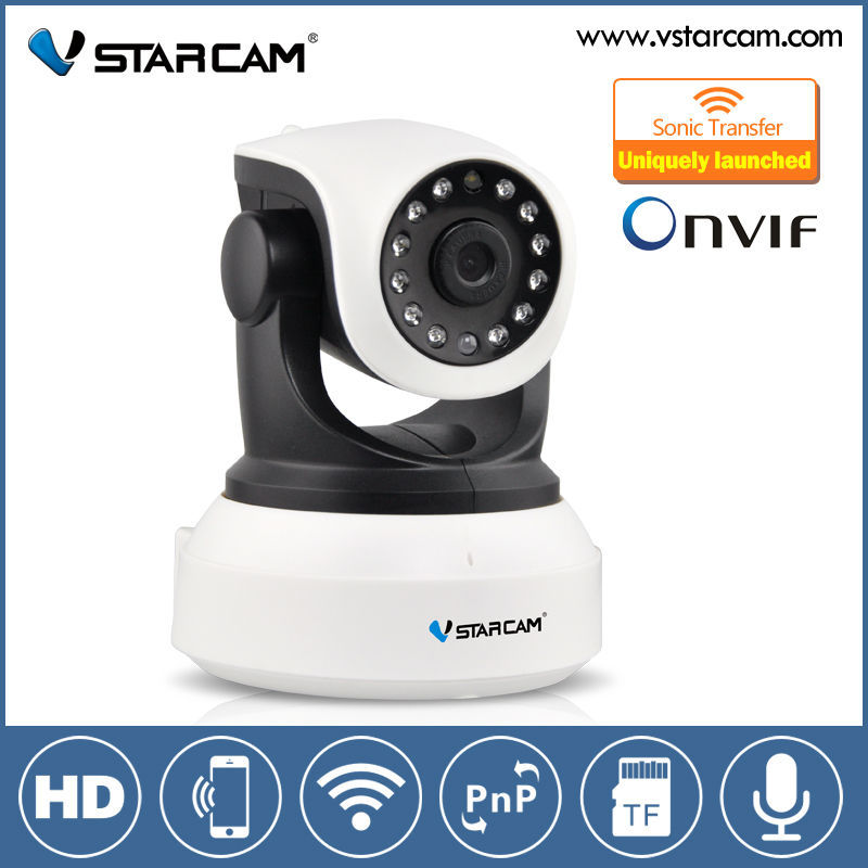 VStarcam New IP Camera Wireless Mini CCTV Camera P2P Baby Monitor P/T Micro TF Card Free IOS Android APP Security ip Camera wifi(China (Mainland))
