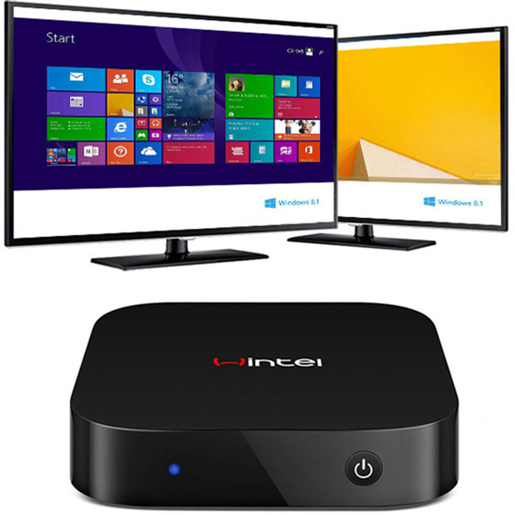 32GB Mini PC&Smart TV BOX Quad-Core Intel Atom Z3735F 1.83GB Windows 8.1 OS HDMI TV Player 2GB RAM Portable PC HD Graphic GPU(China (Mainland))