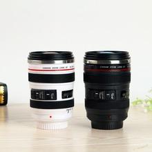 Camera Lens Shape Cup Coffee Tea Travel Mug Stainless Steel Vacuum Flasks worldwide store(China (Mainland))