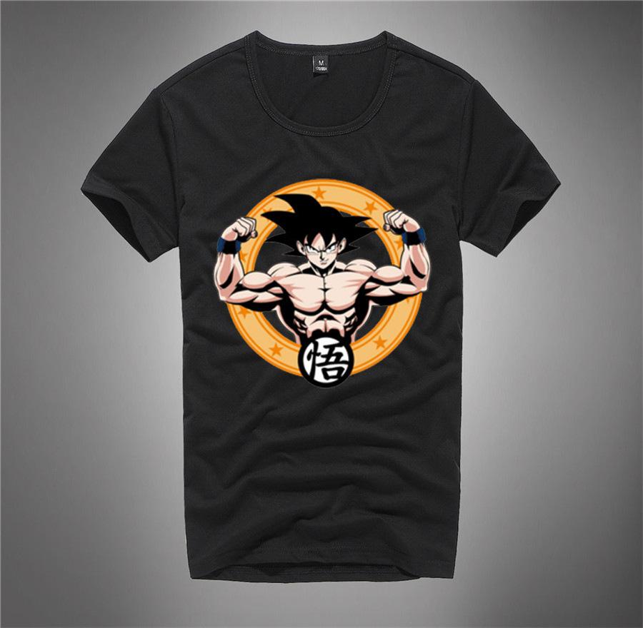 Design shirt japan - 2017 Newest Design Japan Comics Dragon Ball Z T Shirt Fashion Super Goku S Tee Shirts