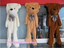 200 CM 2 M gigante sin cubrir la piel del oso de vacío Teddy bear juguete de felpa capa de san valentín del regalo del día los amantes de la piel regalo de cumpleaños del niño