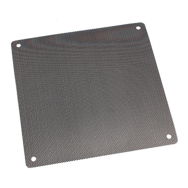 New Arrival 14cmx14cm Computer Cooling Fan Filter PVC 140mm PC Fan Case Dust Filter Strainer Dustproof Mesh Cuttable(China (Mainland))