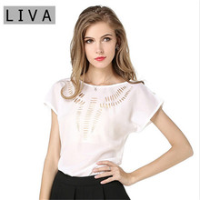 Summer Brand Women's Clothing Batwing Loose Summer Style T shirt Women Loose T shirt Chiffon Short Sleeve Tops Casual T Shirt(China (Mainland))
