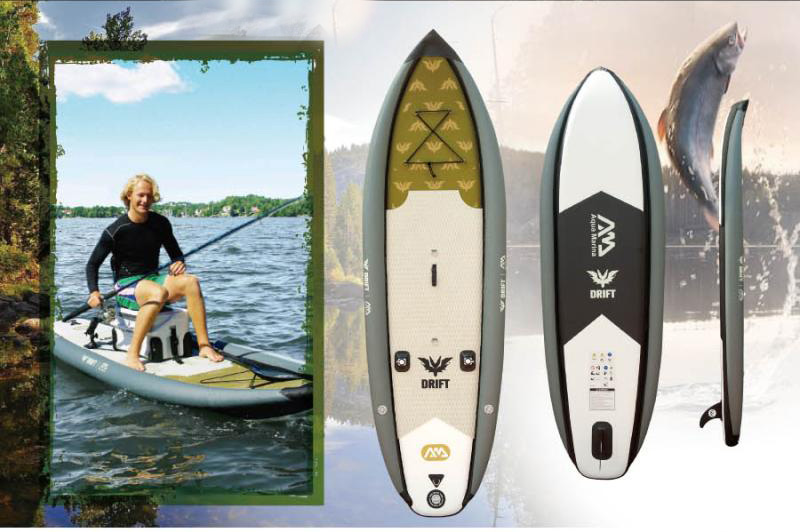 buy inflatable sup board stand paddleboarding leisurefun sports inflatable stand up paddle. Black Bedroom Furniture Sets. Home Design Ideas