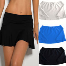 2016 Latest Women Bikini Bottom Tankini Swim Short Skirt Swimwear Cover Up Beach Mini Dress