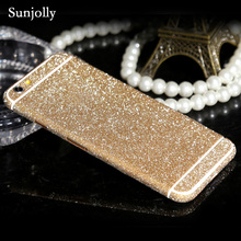 Buy Luxury Scrub Glitter Decal Bling Sticker Phone Case Ultrathin Cover Pink Coque Fundas iPhone 6s 6 Plus 7 Plus 5s 5 SE 5C 4s for $1.28 in AliExpress store
