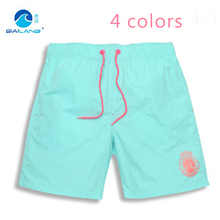 2016 Solid Board Shorts Quick Dry Bermuda Surf Silver Sport Fashion And Relax Brand Short Men Surfing Beachwear XXXL(China (Mainland))