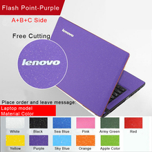 Fashion Personality Laptop Sticker Skins Pure Color Waterproof  Protective Decal Stickers For Lenovo Y500 Y510P Y510 Y500N Case(China (Mainland))
