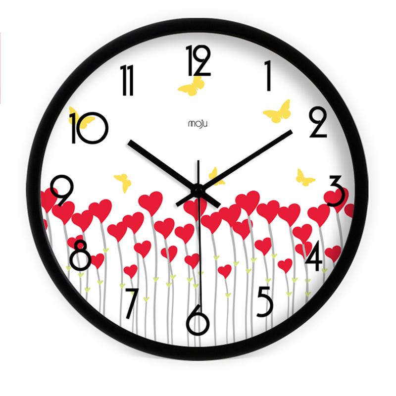 grand moderne horloge murale promotion achetez des grand. Black Bedroom Furniture Sets. Home Design Ideas