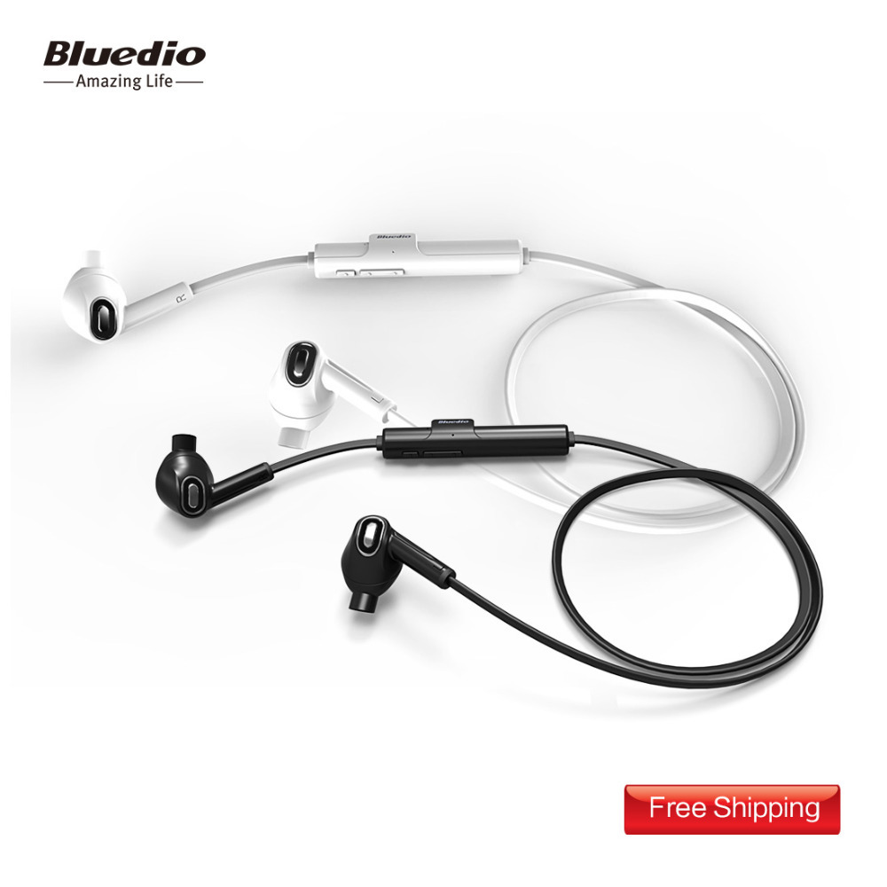 Bluedio Melodie Sports Bluetooth headset/Wireless earpiece 4th generation in-ear earbud Built-in Mic Sweat proof earphone(White)(China (Mainland))