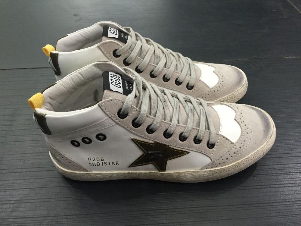 Golden goose mid stella delle donne degli uomini scarpe chaussure schoenen francy homme e femme amanti scarpe ggdb<br><br>Aliexpress