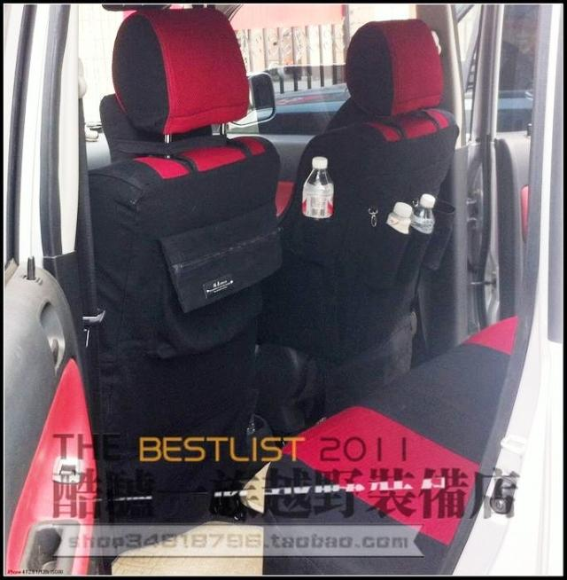 car seat cover suv universal covers black red models cushion set accessories canvas automotive auto cool classy durable classy(China (Mainland))