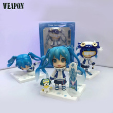 3Pcs/Set Hot Toys Anime Hatsune Miku 18cm Action Figure PVC Model Toys Boy Toy Gifts Free Shipping