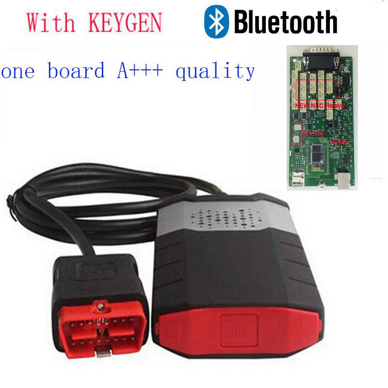 2014 R2 качество +++ один один зеленый для Delphi DS150E нового Vci для Autocom CDP 2015 плюс с кейгена с bluetooth