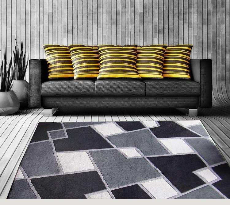 Bedroom bedside custom carpet alfombras tapete for modern for Alfombras de living