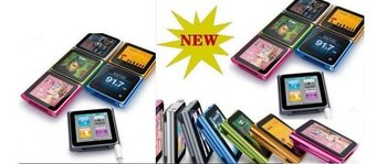 """2013 Newest MP3/Mp4 Player for 1.5"""" 6th Gen LCD 8GB Player FREE SHIP"""