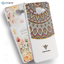 2016 New Arrival Rear Cover For Samsung Galaxy A3 2016 A3100 A310 A310F 3D Pattern Painted PC Mobile Phone Protective Back Case