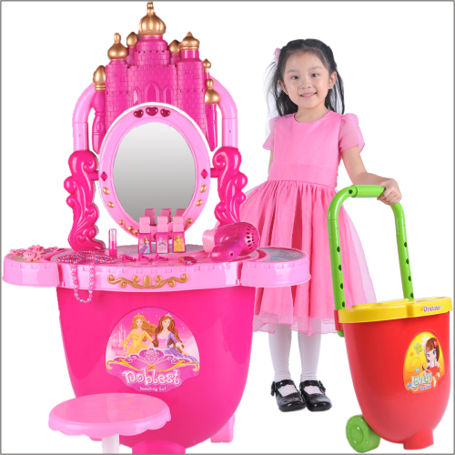 girl simulation dressing table, with music and light(China (Mainland))
