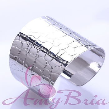 Hey My Dear Friends Free shipping 2013 Stainless Steel Bangle Planting Silver Irregular pattern Good feeling  Just Ckick Here