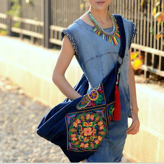 Compare Prices on Embroidered Hobo Bag- Online Shopping/Buy Low ...