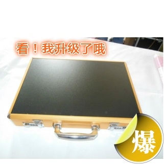 Aluminum alloy password box laptop box commercial storage box briefcase computer case(China (Mainland))