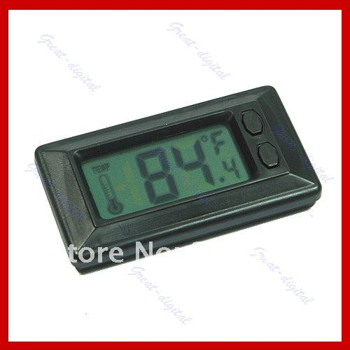 2016Wholesale 5pcs/lot New LCD Digital Wall Car Indoor Thermometer Temperature Meter Sale<br><br>Aliexpress