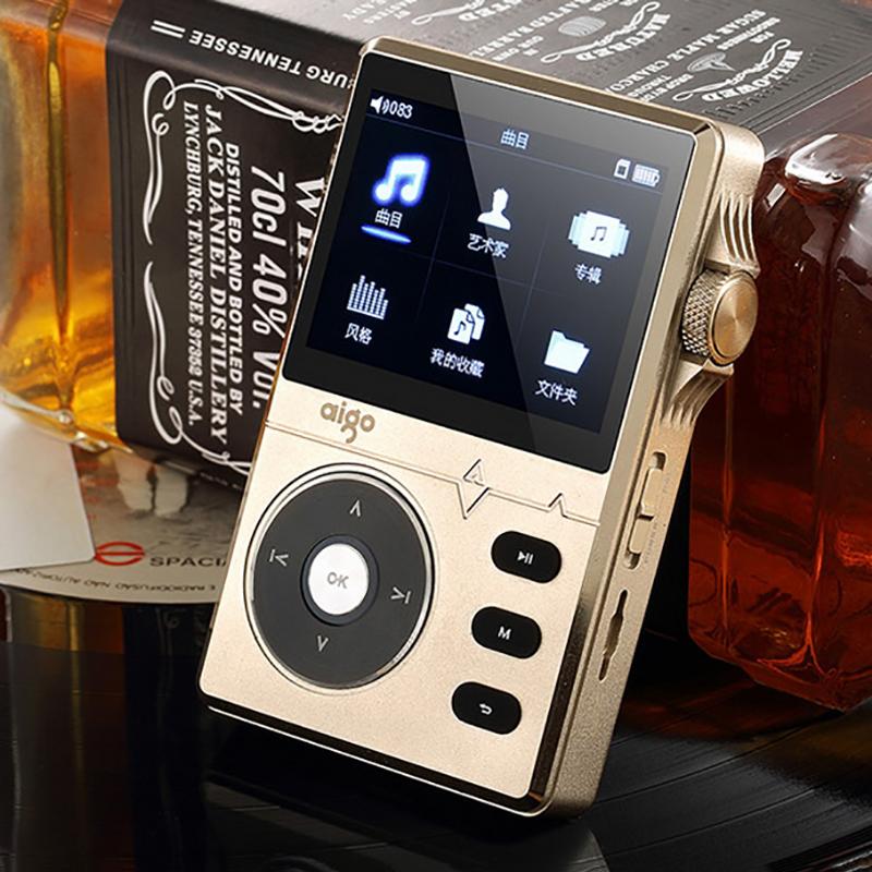 Original Aigo Portable HIFI Lossless MP3 Music Player 8G 2.2 inch LED Screen Display Support APE FLAC WAV WAV ACC OGG M4a(China (Mainland))