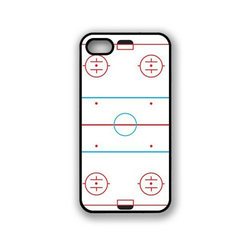 I Love Ice Hockey Court Case for Iphone 4 4S 5 5S 5C 6 Plus for Samsung galaxy S3 S4 S5 Mini S6 Edge A3 A5 A7 Note 2 3 4(China (Mainland))