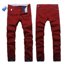 Hot sell Top quality New Arrival 2014 Shampooers Slim Clot Men outdoor Cloth Trousers Men's Pants Casual Pants Bboy HOT