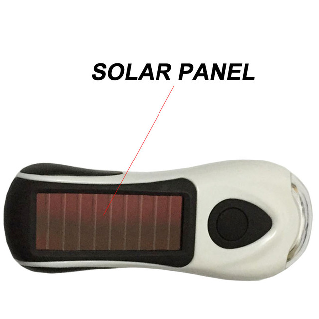 Solar Power Flashlight Infinite