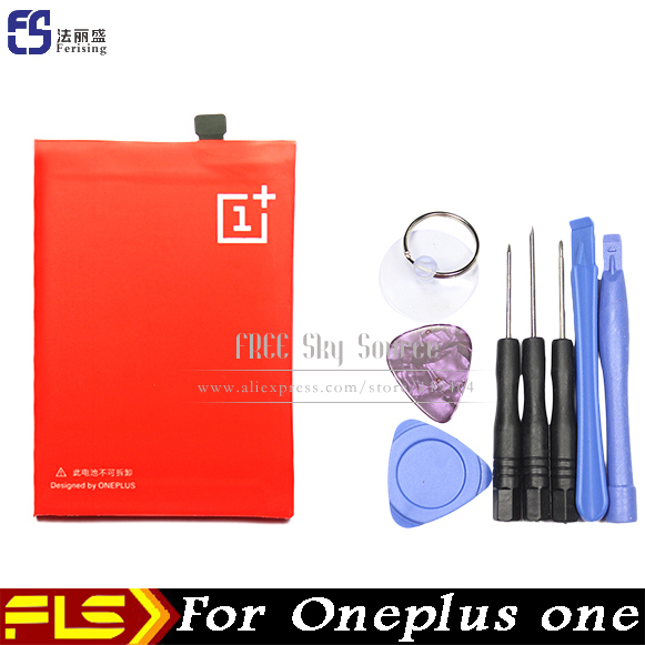 100% Original 3100mAh mobile phone Battery For OPPO Oneplus one A++++ BLP571 Batterie Batterij Bateria + Free tools(China (Mainland))