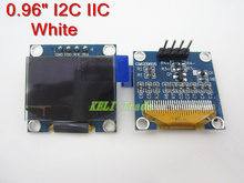 "Free shipping 1Pcs 128X64 White OLED LCD LED Display Module For Arduino 0.96"" I2C IIC SPI Serial new original(China (Mainland))"