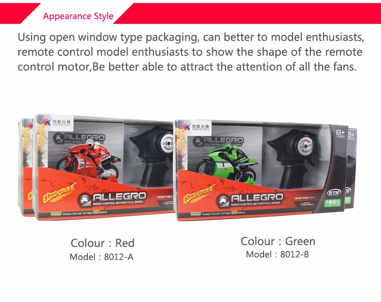 RC Motorcycle high speed Drifting Stunt Remote-controlled Motorcycle Racing Toy Mode intermitentes moto speedcross