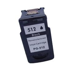 100% гарантия качества для Canon PG512 PG 512 с черными чернилами для Canon PIXMA IP2700 MP240 MP250 MP252 MP260 MP272 MP480