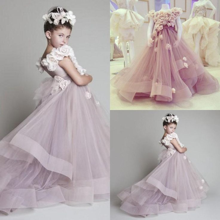 Glamour Girl Wedding Dresses : Girl gowns in flower dresses from weddings events on aliexpress