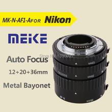 Meike N-AF-B Auto Focus Macro Extension Tube Ring for Nikon D60 D90 D3000 D3100 D3200 D5000 D5100 D5200 D7000 D7100 Camera DSLR