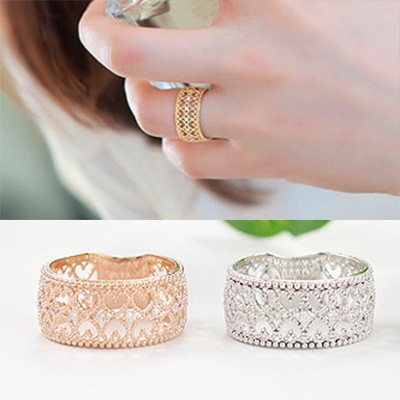 Fashion Vintage Punk Style Alloy Ring Silver Hollow Out Heart Band Midi Mid Finger Knuckle Ring Set High Quality Free Shipping(China (Mainland))