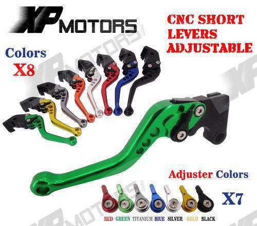 CNC Short Clutch Brake Levers For Kawasaki ZX6R 636 ZX6RR ZX9R ZX10R ZX12R Z1000<br><br>Aliexpress
