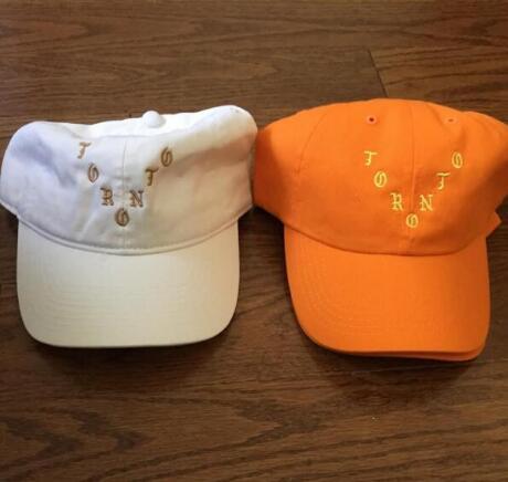 Casquette new Kanye West Toronto Pablo Popup Orange White Black Adjustable Cap Curved Chapeau houston Dad Hats Brand hip hop hat(China (Mainland))