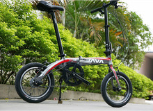 "JAVA X3 Folding Bike 14"" Wheel 3 Speed Auto Shift Hub V Brake Foldable Uniex High Quality(China (Mainland))"