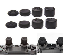 8pcs/Lot Enhanced Silicone Analog Controller Thumb Stick Grips Cap Skin Cover Extra High for Sony PlayStation 4 PS4 thumbstick(China (Mainland))