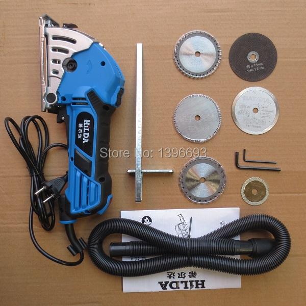 Гаджет  Mini hand circluar saw ,Plunge Saw, eletric saw,Multi Circular Saw ,EU plug  For wood,metal,granite,marble,tile,brick None Инструменты
