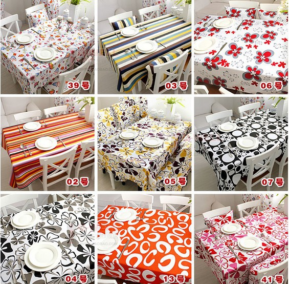 """205# rectangle 130*180cm/51*70"""" hot sale cotton printed house design tablecloth table mat table cover wholesale(China (Mainland))"""