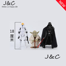 2016 18cm Star Wars Revo Revoltech Darth Vader Anakin Skywalker PVC Action Figure Toy Model Brinquedos Model Collection Doll Toy