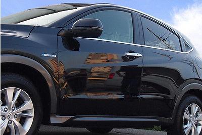 Side Door Bottom Window Sill Trims 6pcs For Honda Vezel 2014 2015<br><br>Aliexpress