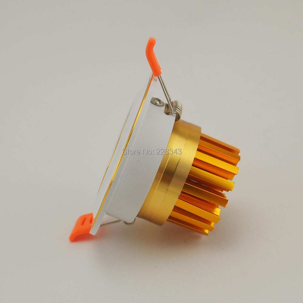 Newes LED COB Ceiling light 5W 7W10W COB Chip LED Recessed Downlight Spot Light Lamp AC85-265V White/ warm white