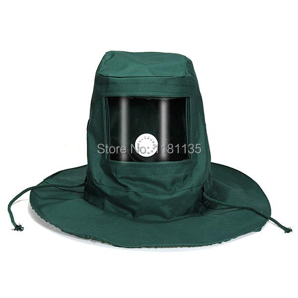 Blasting Hood Sand Abrasive Sandblaster Mask Cap Anti Wind Dust Protective Tool(China (Mainland))