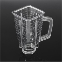 Juicer Parts 1Pcs 5 Cup Square Top Complet e plastic Jar Mug Replacement Set Fits for Oster Blender(China (Mainland))