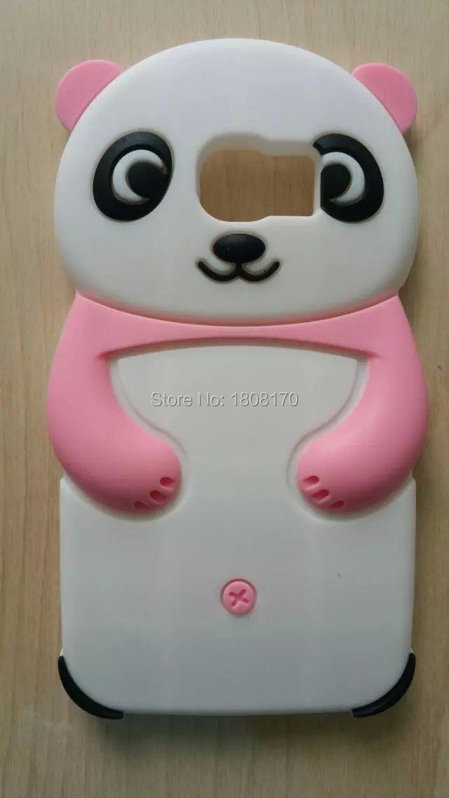 Cartoon China Kungfu Panda Bear Soft Gel Phone Case For Samsung Galaxy S6 G9200 Bag Rubber Animal Back Lovely Cute Cover 10pcs(China (Mainland))